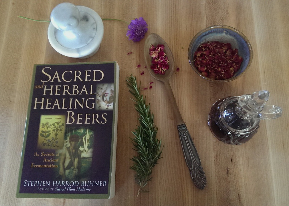 sacred beer, home brewing, fermentation, kitchen magic, kitchen witch